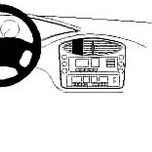 Porsche Boxster 1997-2004 CSMP-1316 Safety mount