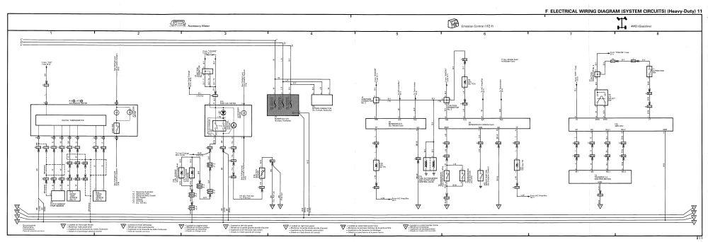 medium resolution of toyota land cruiser 1990 1998 wiring diagram heavy duty 11