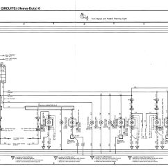Land Cruiser Radio Wiring Diagram Boat Diagrams Toyota 1990 1998 Electrical