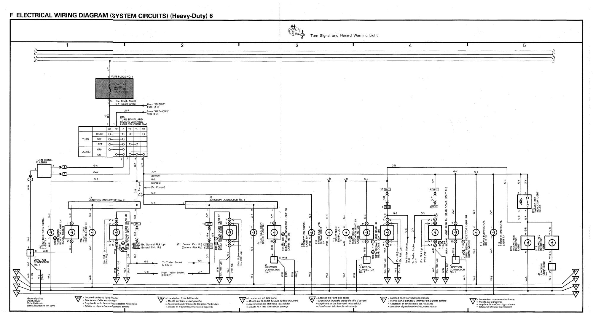 hight resolution of wiring diagram for 1990 land cruiser wiring diagram forward 1998 toyota land cruiser wiring diagram