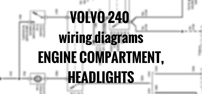 volvo 240 rear wiring harness