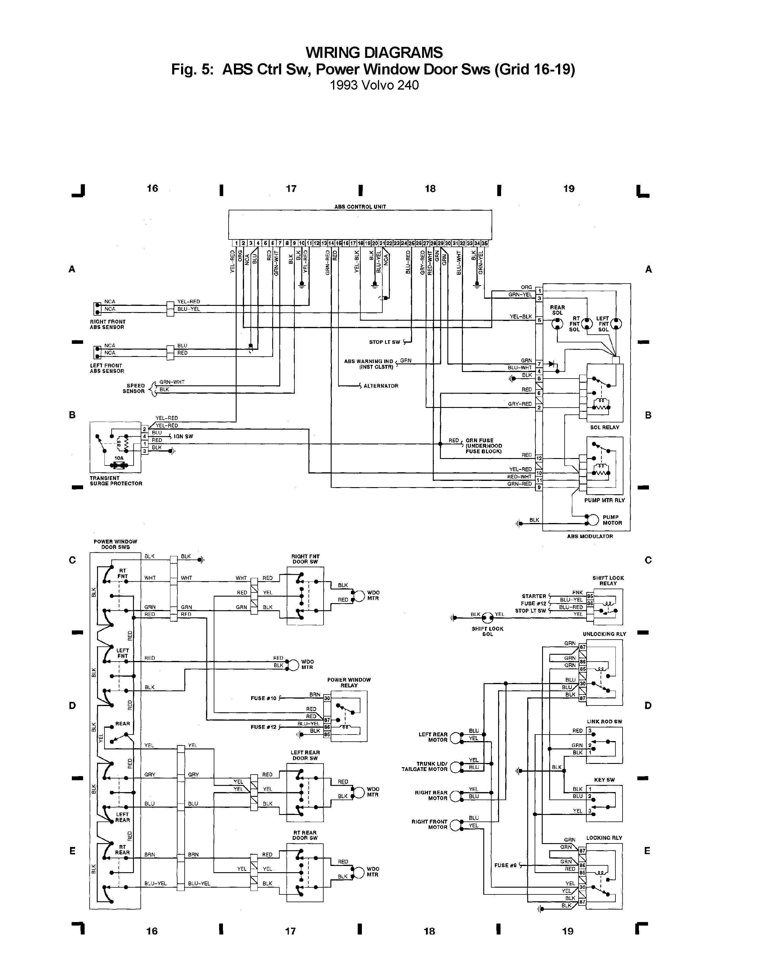 1993 volvo 240 wiring diagrams freightliner m2 diagram library abs crtl sw power window door rh carknowledge info