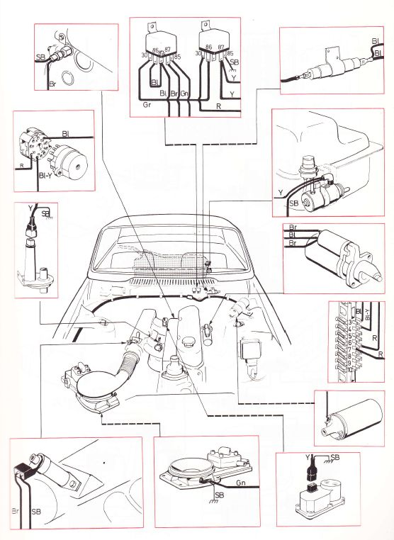 audi 80 b3 wiring diagram