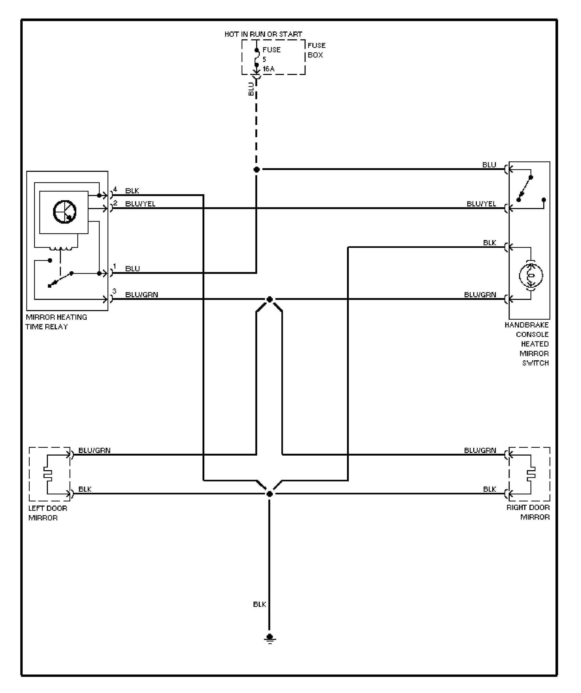 hight resolution of volvo 240 1991 1993 wiring diagrams heated mirrors mercedes benz truck wiring diagram mercedes benz w204