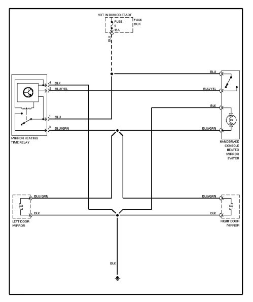 small resolution of volvo 240 1991 1993 wiring diagrams heated mirrors mercedes benz truck wiring diagram mercedes benz w204