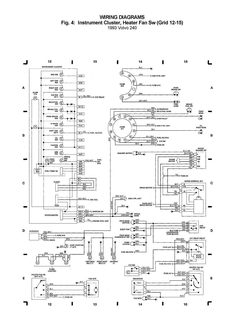 medium resolution of volvo 240 wiring diagram wiring diagram imp volvo 240 wiring diagram 1990 volvo 240 wiring diagram