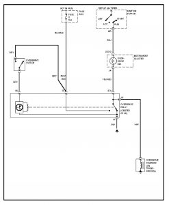 Volvo 240 (1993)  wiring diagrams  overdrive circuit  CARKNOWLEDGE