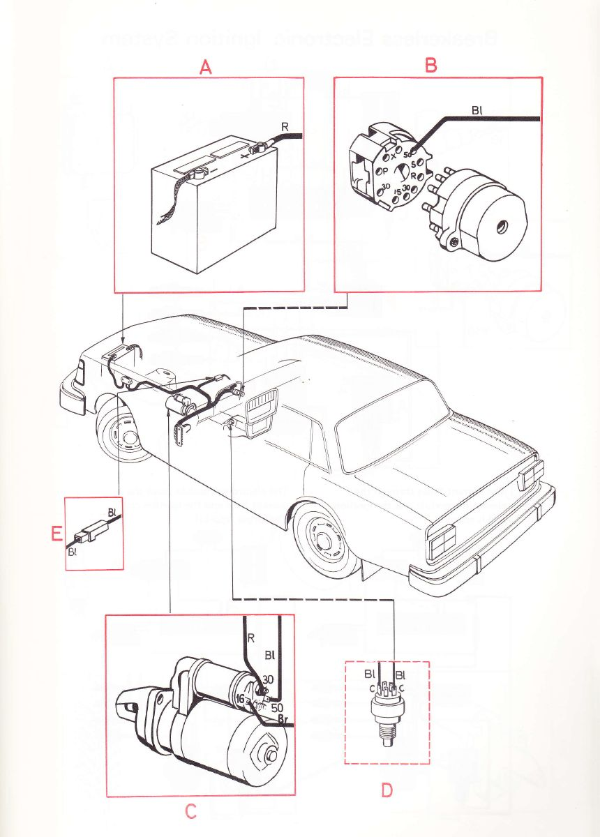 hight resolution of volvo 240 1975 wiring diagrams starting circuits