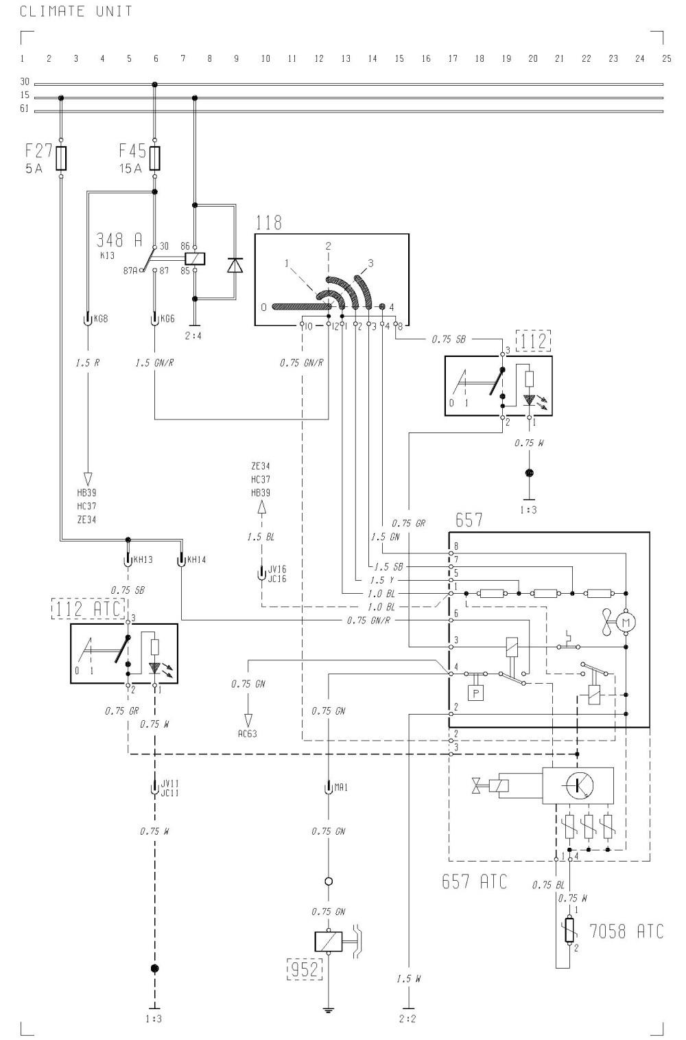 medium resolution of volvo f12 f16 wiring diagram climate unit carknowledge wiring diagram volvo f12