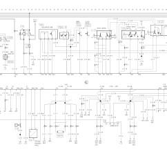 Mitsubishi Pajero Ecu Wiring Diagram 2 Lights 1 Switch 4g54 Engine 6 Liter