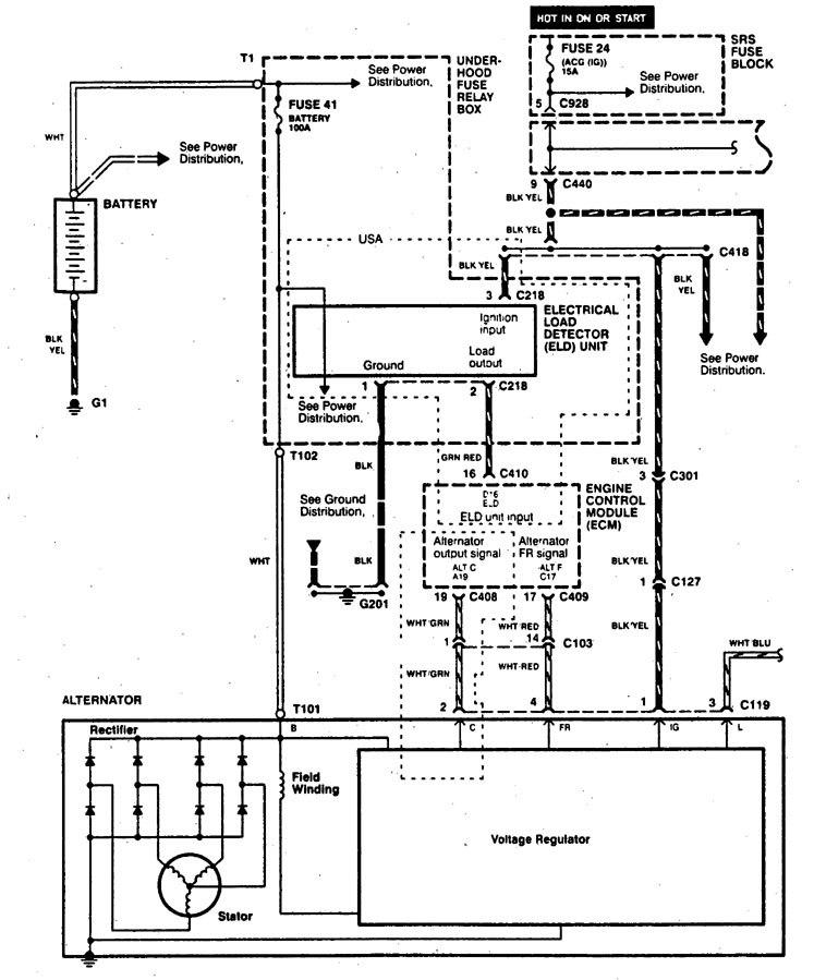 Acura Integra Engine Wiring Diagram : Category Acura