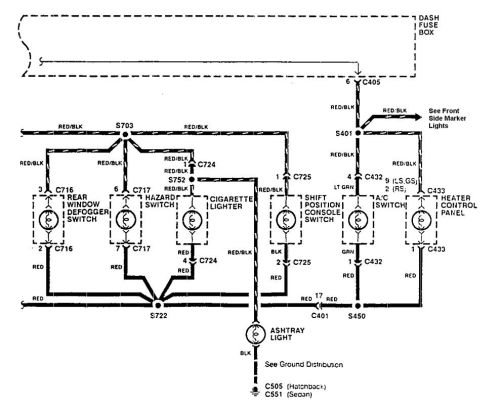 small resolution of  acura integra wiring diagram console lamp