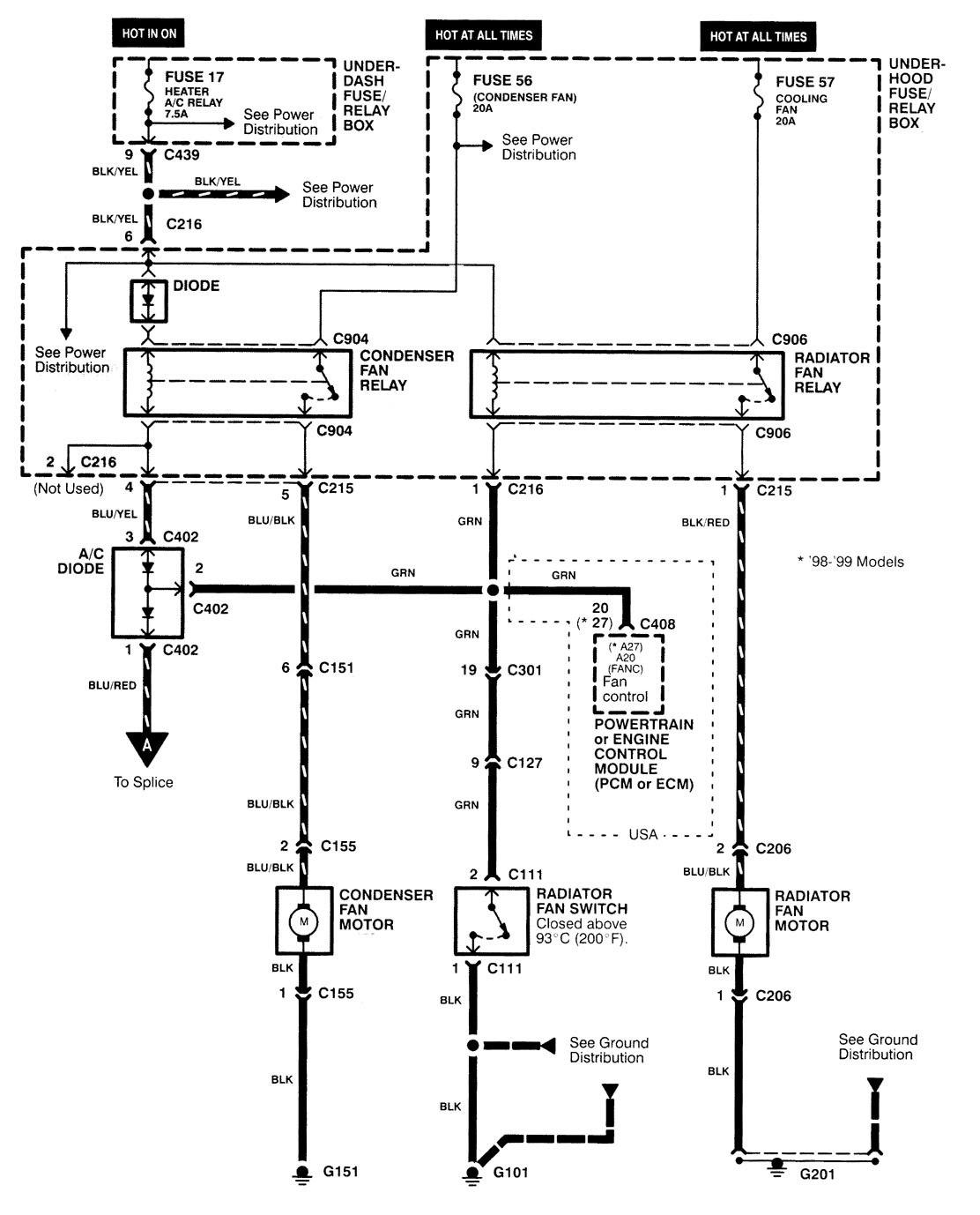 2007 pt cruiser fan wiring diagram
