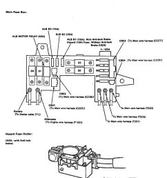 acura integra 1991 1993 wiring diagrams fuse block rh carknowledge info acura integra fuse box cover [ 932 x 1106 Pixel ]