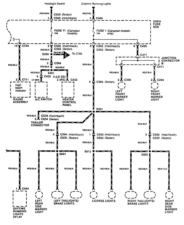 1997 acura integra fuse box diagram