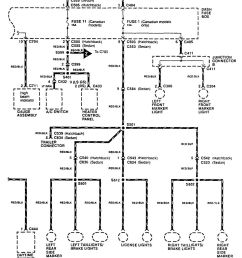 acura integra wiring diagram fuse panel  [ 959 x 1170 Pixel ]