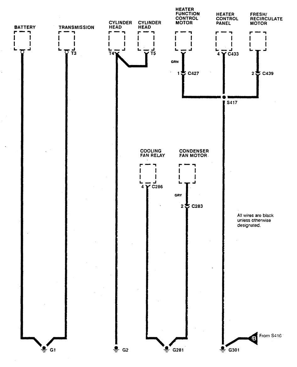 hight resolution of  acura integra wiring diagram ground distribution