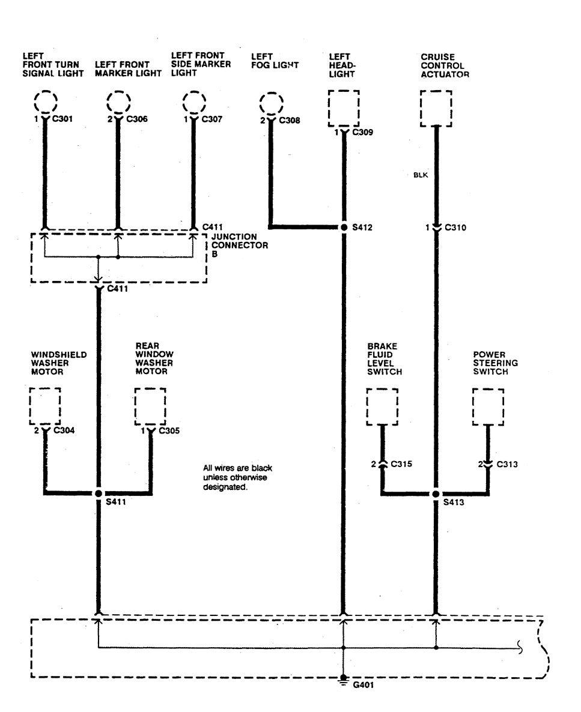 medium resolution of  acura integra wiring diagram ground distribution