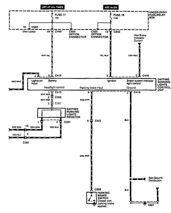 95 Acura Integra Wiring Diagram - Diagrams Catalogue on