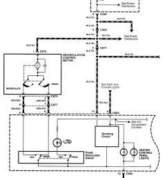 acura integra wiring diagram hvac control part 1  [ 1021 x 1319 Pixel ]