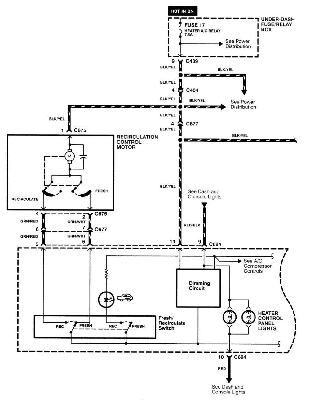 medium resolution of acura integra wiring diagram hvac control part 1