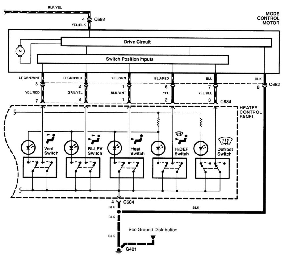 medium resolution of acura integra wiring diagram hvac control part 2