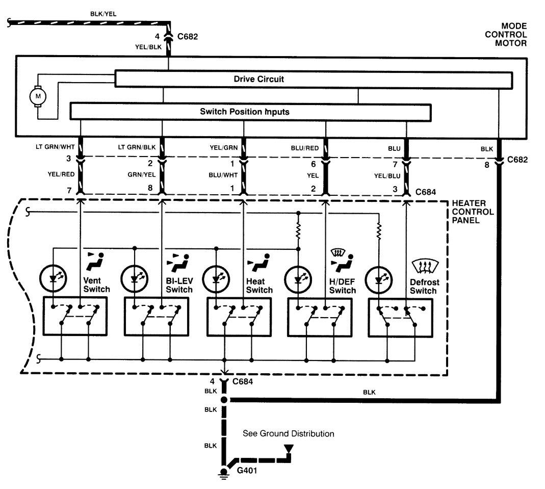 hight resolution of acura integra wiring diagram hvac control part 2