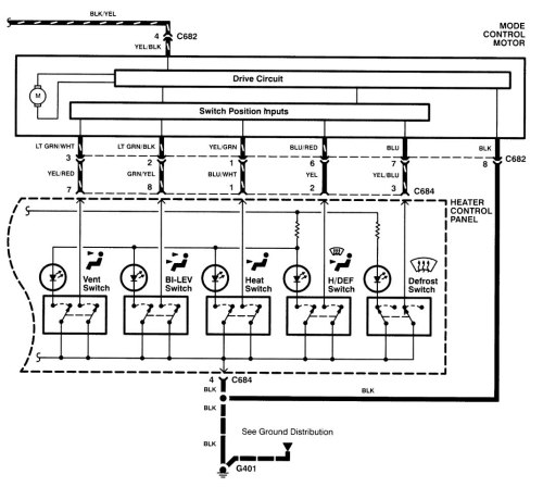 small resolution of acura integra wiring diagram hvac control part 2
