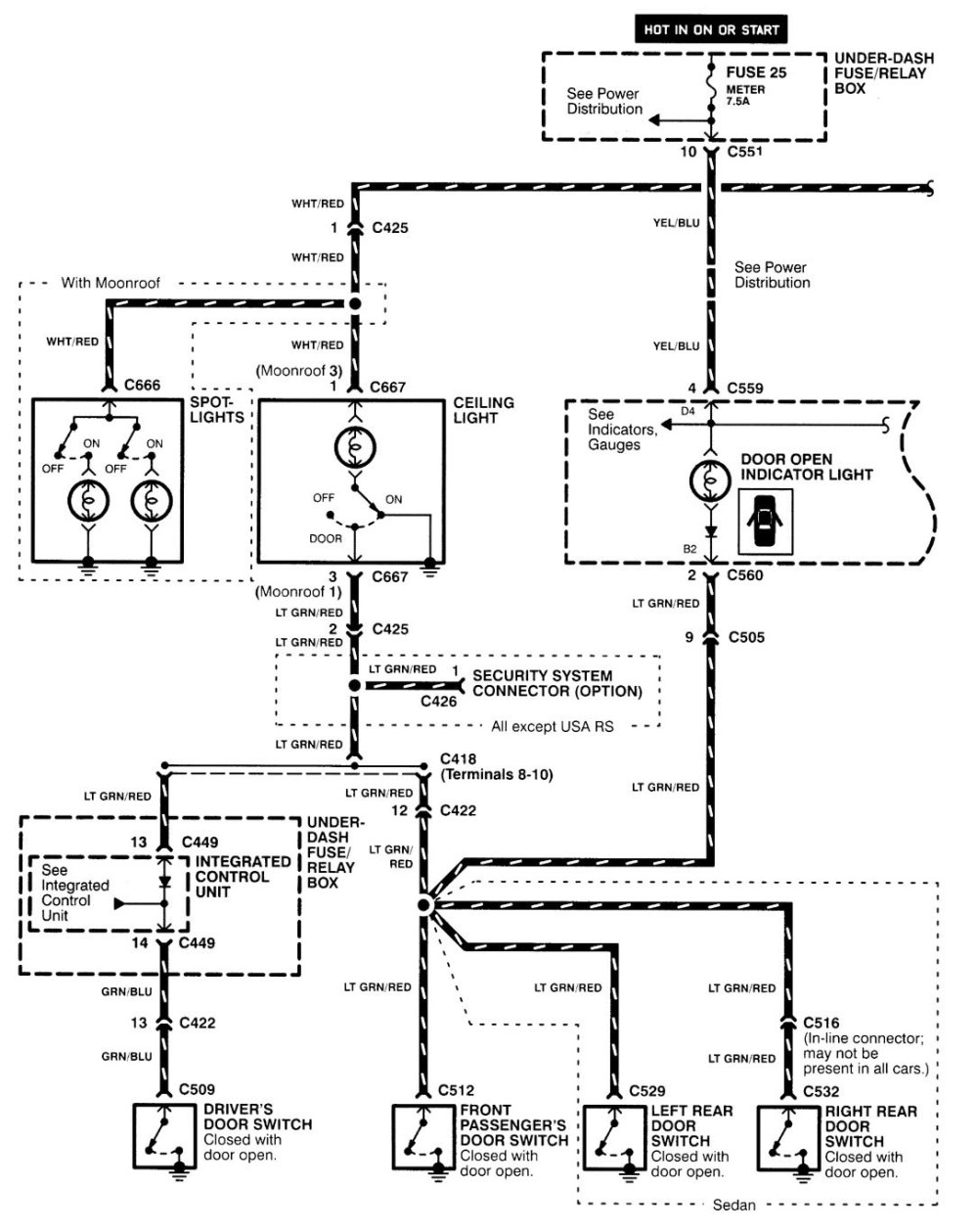 medium resolution of 1995 acura legend wiring diagram