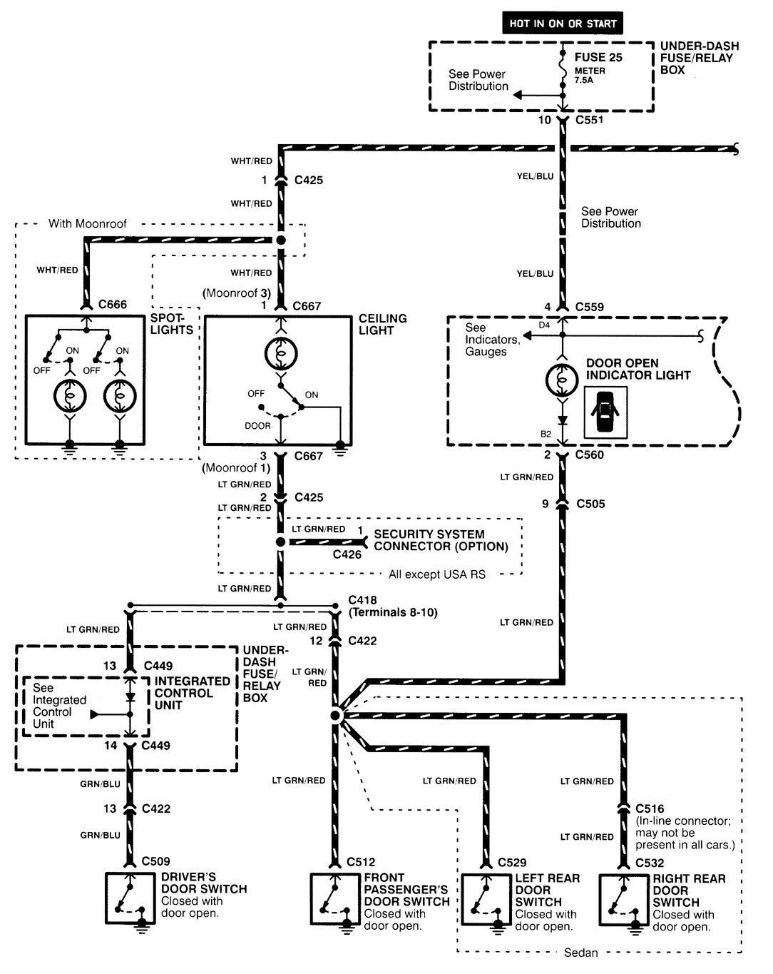 hight resolution of 1995 acura integra engine wiring diagram schematic