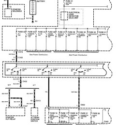 acura integra 1998 2001 wiring diagrams power 2004 acura tl headlight wiring diagram 1991 acura integra [ 1087 x 1350 Pixel ]