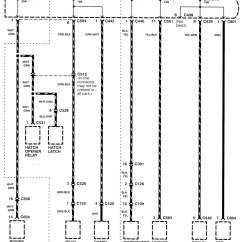Integra Wiring Diagram Directv Diagrams Acura 1998 2001 Power