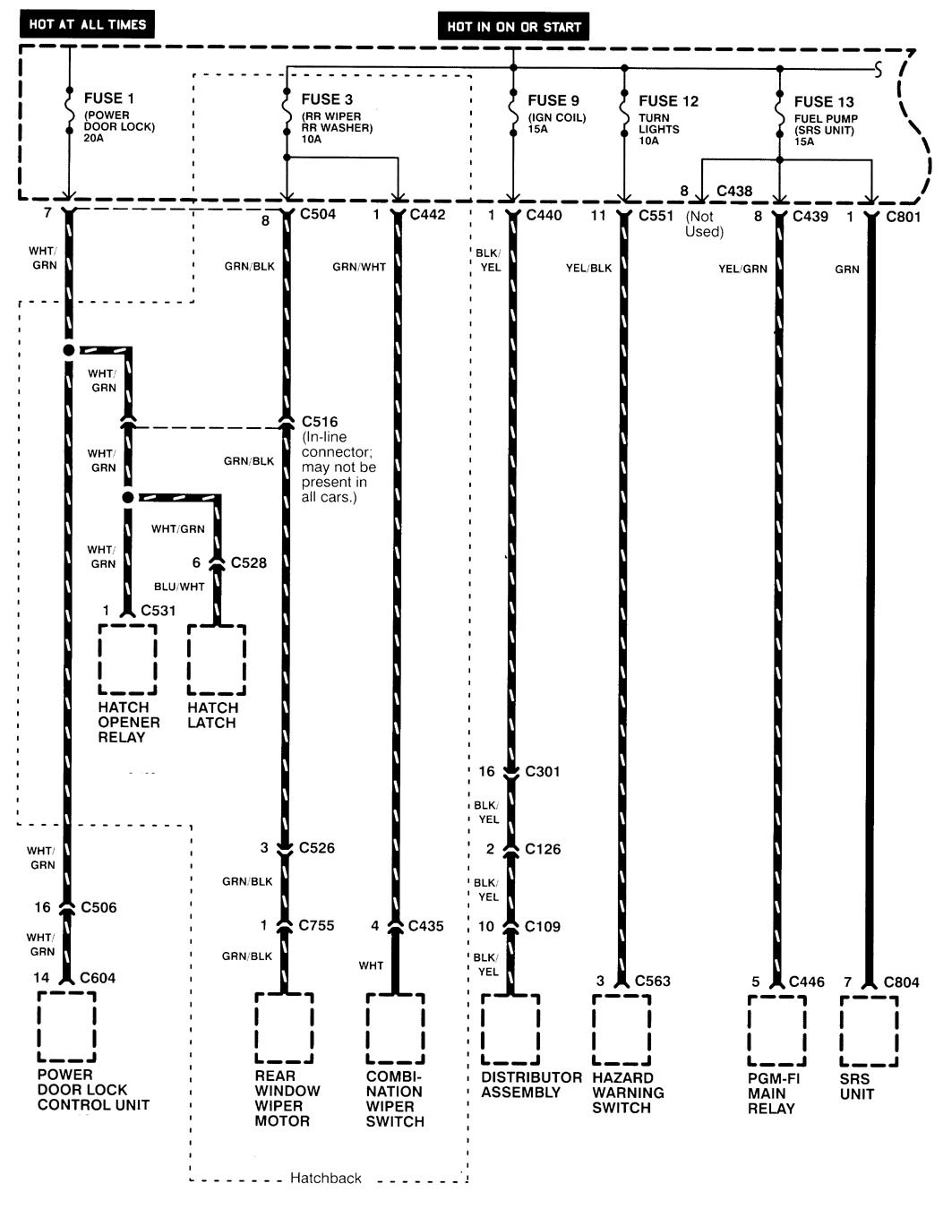 hight resolution of  acura integra wiring diagram power distribution part 3
