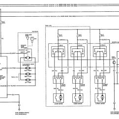 Acura Integra Wiring Diagram Typewriter Parts 1992 1993 Diagrams Power