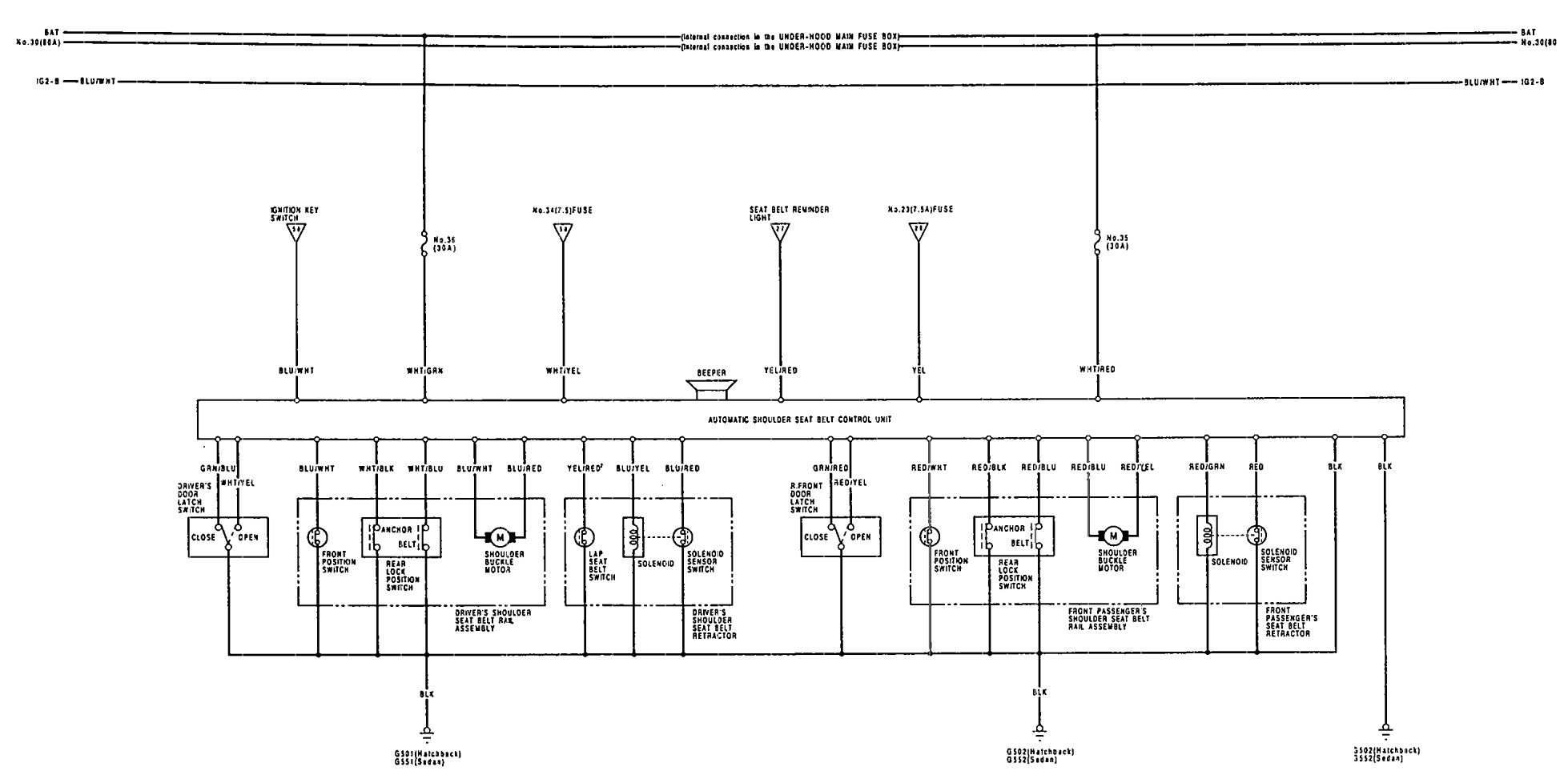 Wiring Diagram For 91 Acura Integra : 35 Wiring Diagram
