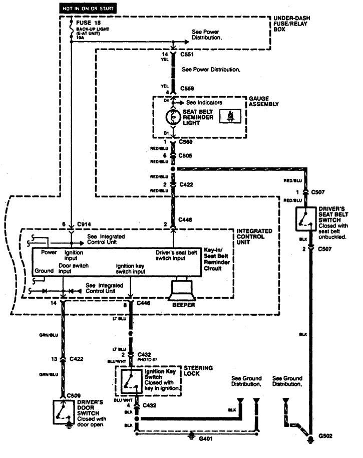 integra fuse box diagram