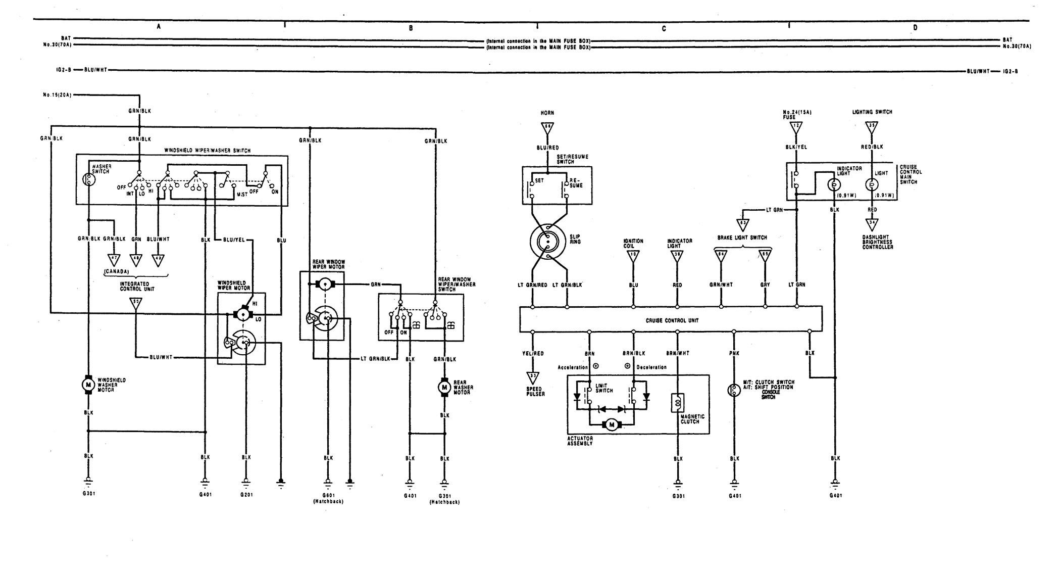 Acura Integra Wiring Diagram Collection