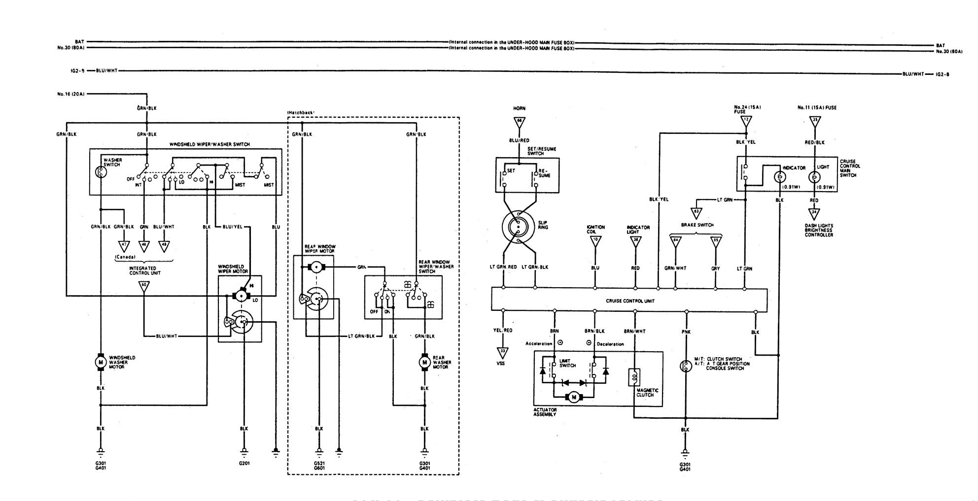 Honda Accord Distributor Schematics
