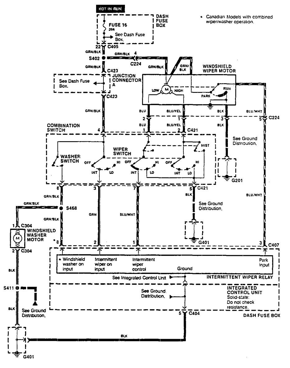 1990 integra fuse box diagram