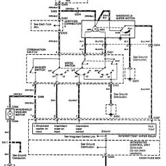 Acura Integra Wiring Diagram 98 F150 4wd 1990 Auto Electrical Related With