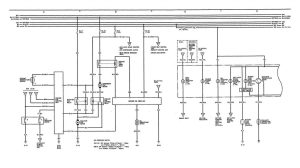 Acura Legend (1991)  wiring diagrams  cooling fans