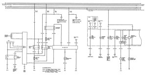 Acura Legend (1992)  wiring diagrams  cooling fans