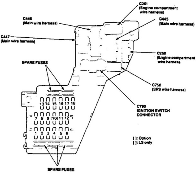 1991 legend wiring diagram