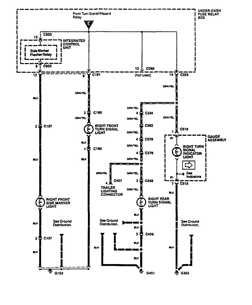 Wiring Diagram For 94 Geo Prizm Radio Geo Prizm Horn