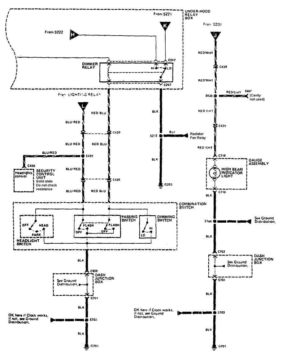 medium resolution of acura legend 1990 wiring diagram headlamps 1990 acura integra fuse box acura rl fuse box