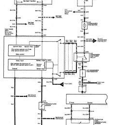 acura legend wiring diagram hvac controls part 1  [ 967 x 1185 Pixel ]
