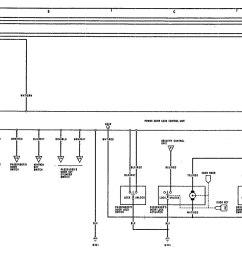 acura legend u2013 wiring diagram u2013 power locks [ 1961 x 1022 Pixel ]
