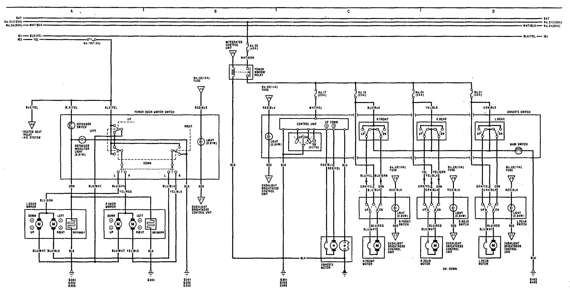 hight resolution of 1991 acura legend wiring diagram 1991 acura legend wiring diagram wiring diagramrh komagoma