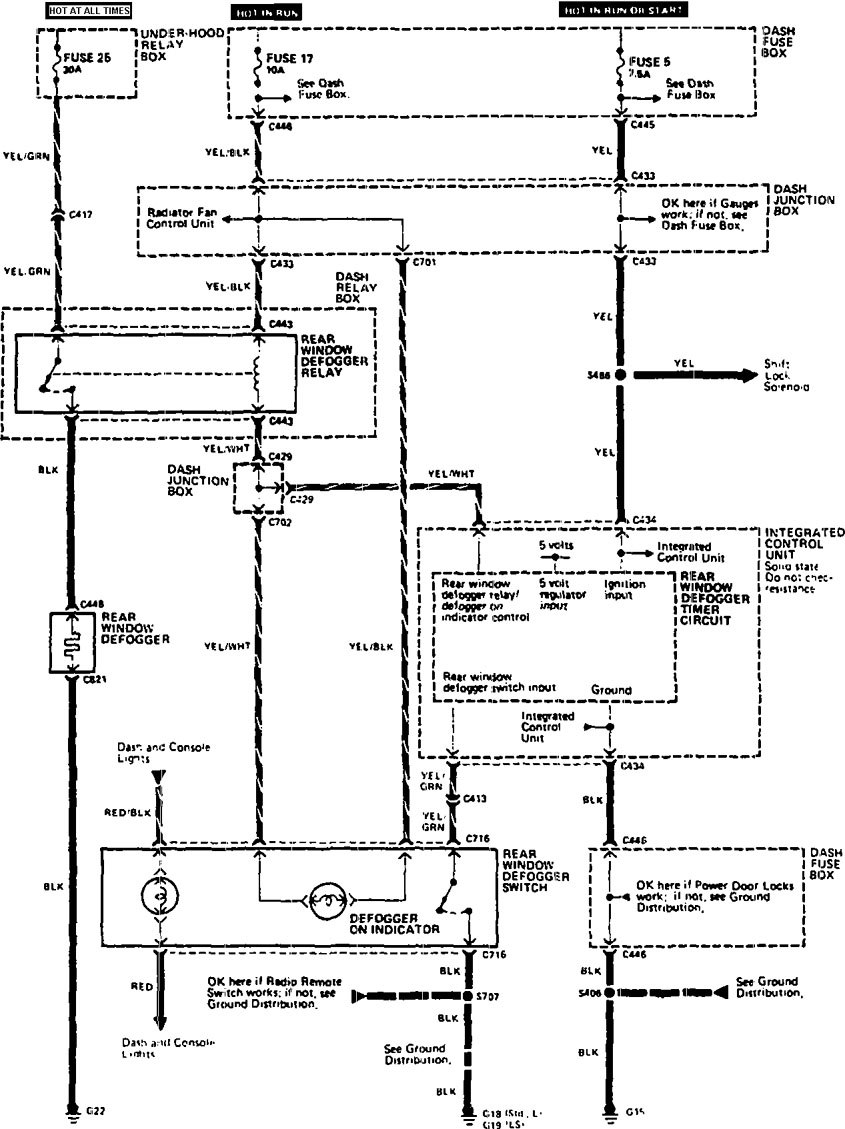 Acura Vigor Wiring Diagram Free Install Centurylink Internet Fuse Box For 1990 Legend Download Rear Window Defogger Wk7023html