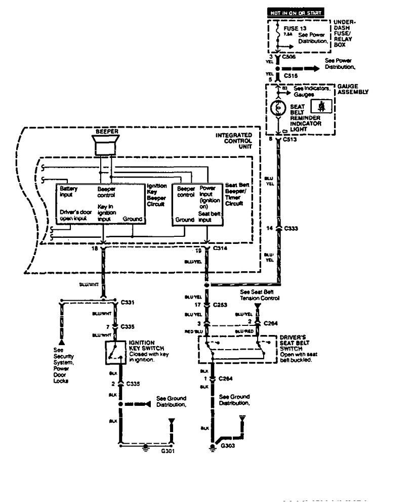 Acura Legend (1995) – wiring diagram
